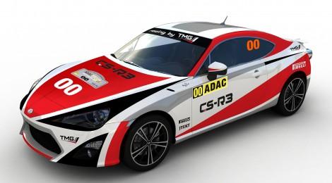 TOYOTA: El GT86 CS-R3, preparado para debutar en el WRC en Alemania