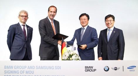 BMW GROUP Y SAMSUNG SDI: COLABORAN POR UN FUTURO ELÉCTRICO