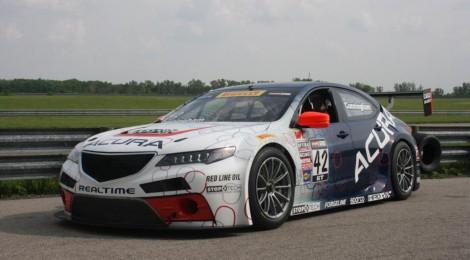 ACURA: El TLX GT 2015 hará su debut en pista este fin de semana