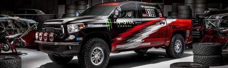 Toyota: se apunta en la Baja 1000