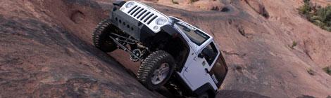 Moab Utha, el territorio Jeep