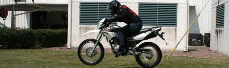 Honda de México presenta su nueva moto XR 150 L