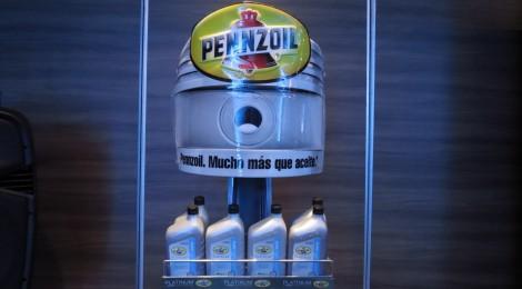Pennzoil presenta Platinum, un aceite hecho de gas natural