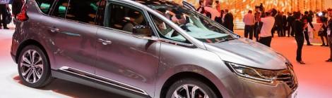 Renault presenta su Nuevo Espace en el Salón de París