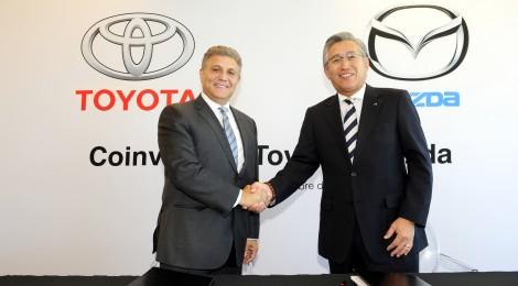 Firma Toyota contrato de Coinversión con Mazda