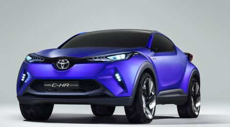 Toyota C-HR Concept, su visión de un crossover del segmento C