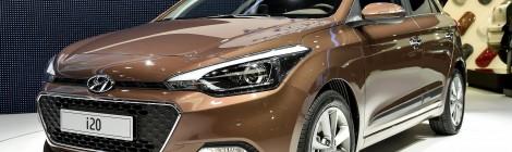 Hyundai i20 llega renovado a París