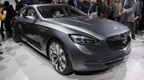 NAIAS 2015-Buick Avenir Concept