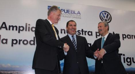 Volkswagen producirá en Puebla nueva versión de Tiguan