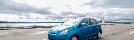 Mitsubishi Mirage entre los 10 vehículos más eficientes de Kelley Blue Book