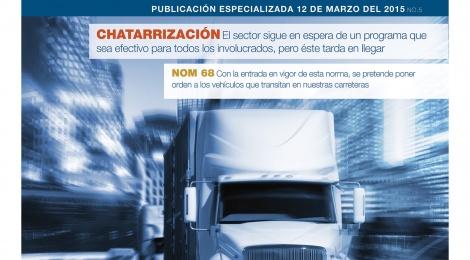 El suplemento número 1 de Transporte en México.