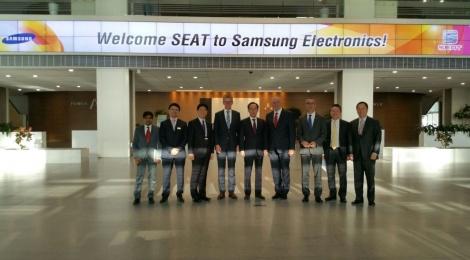 SEAT y Samsung por una conectividad total sin distracciones