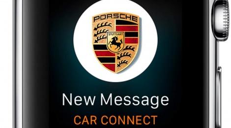 Apple y Porsche conectados