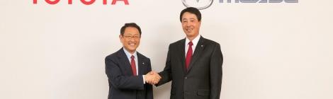 Toyota y Mazda se unen para hacer mejores coches