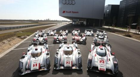Audi, reunión de campeones