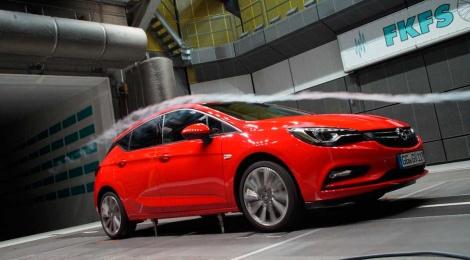 La aerodinámica, fundamental en el nuevo Opel Astra