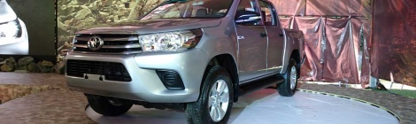 Toyota Hilux 2016, confort al trabajar