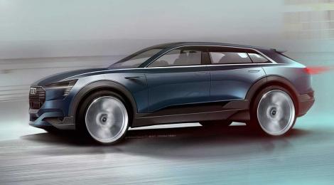 Audi quattro e-tron concept, el paso previo a la producción en serie