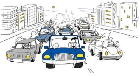 Las siete personalidades del conductor