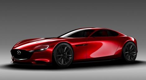 Salón de Tokio: Mazda RX-VISION con el motor rotativo de nueva generación SKYACTIV-R