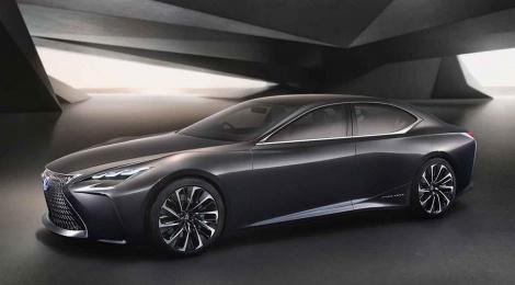 Lexus LF-FC, fusión de tecnología y diseño