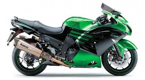 Kawasaki ZZR1400 y ZZR1400 Performance Sport, mejor desempeño