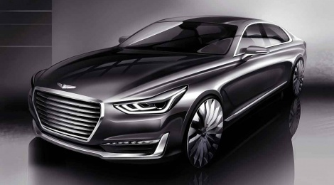 G90 el tope de gama de la nueva marca Genesis
