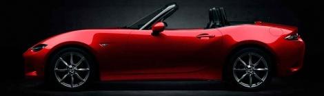 """Reconocen al Mazda MX-5 como """"Auto del Año 2015-2016"""" en Japón"""