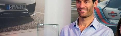 Porsche/Chopard: Mark Webber visita México