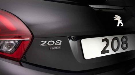 Peugeot 208 ahora brilla con SWAROVSKI