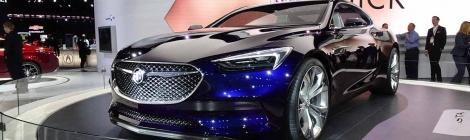 NAIAS 2016 -Buick:  Avista, un coupé impactante