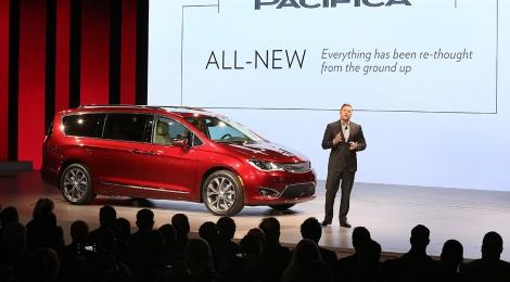 Chrysler Pacifica 2017: La minivan, como debió ser