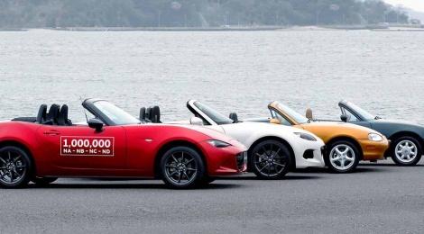 Mazda fabrica el MX-5 un millón