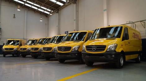 Mercedes-Benz Vanes-DHL Express, éxito compartido