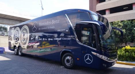 Mercedes-Benz Autobuses se une al festejo de los 100 años del Club América