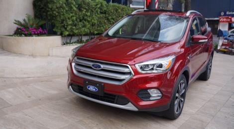 Ford Escape 2017, mejor rendimiento y más potencia
