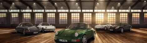 Techno Classica 2018: 70 años de deportivos Porsche y 30 del Type 964