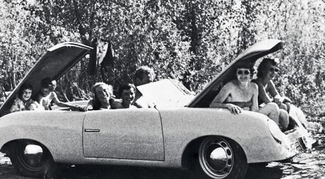 porsche: réplica del 356 Roadster de gira mundial