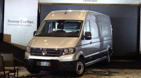 Volkswagen Crafter 2019: Pide, y se te concede