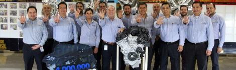 FCA MÉXICO: 4 MILLONES DE MOTORES