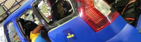 El RACE y Goodyear realizan un 'crash test' que muestra lesiones incompatibles con la vida en situaciones comunes para millones de viajeros españoles