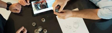 Los ingenieros de Ford han desarrollado un sistema único de tuercas de seguridad mediante tecnología de impresión 3D