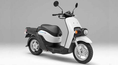 "Honda planea comenzar a vender los scooters eléctricos  ""BENLY e: Serie"" para uso comercial"