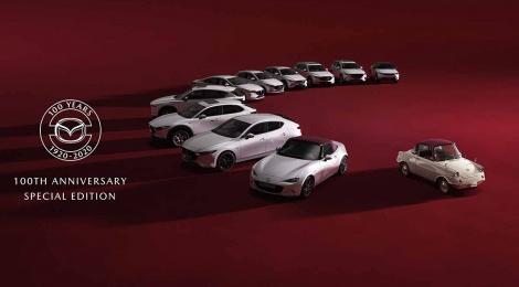 Mazda marca centenario con modelos de edición especial