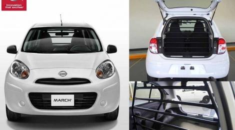 Nissan March Cargo: Un vehículo diseñado para fortalecer a los actuales modelos de negocio que sobresalen en México
