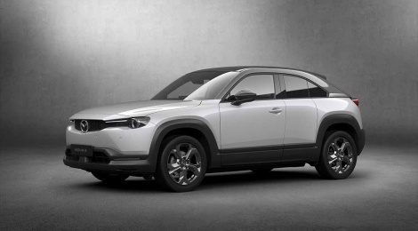 Mazda MX-30 destaca el compromiso de 30 años de Mazda con los plásticos ecológicos