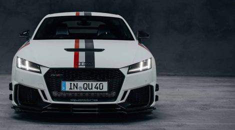 El nuevo Audi TT RS 40 años de quattro