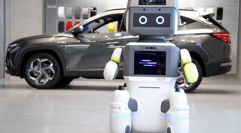 """El robot Coreano: Hyundai Motor Group ha lanzado a """"DAL-e"""""""