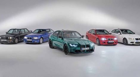 LAS SEIS GENERACIONES DEL BMW M3