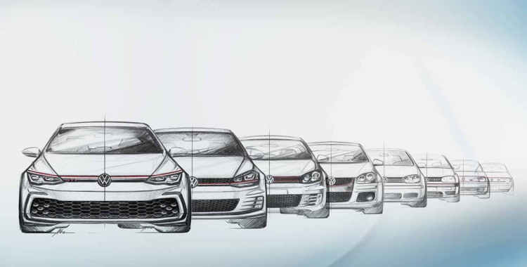 VW GTI: Ocho generaciones de rostros